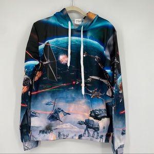 Zootop Bear Star Wars hoodie sweatshirt top shirt